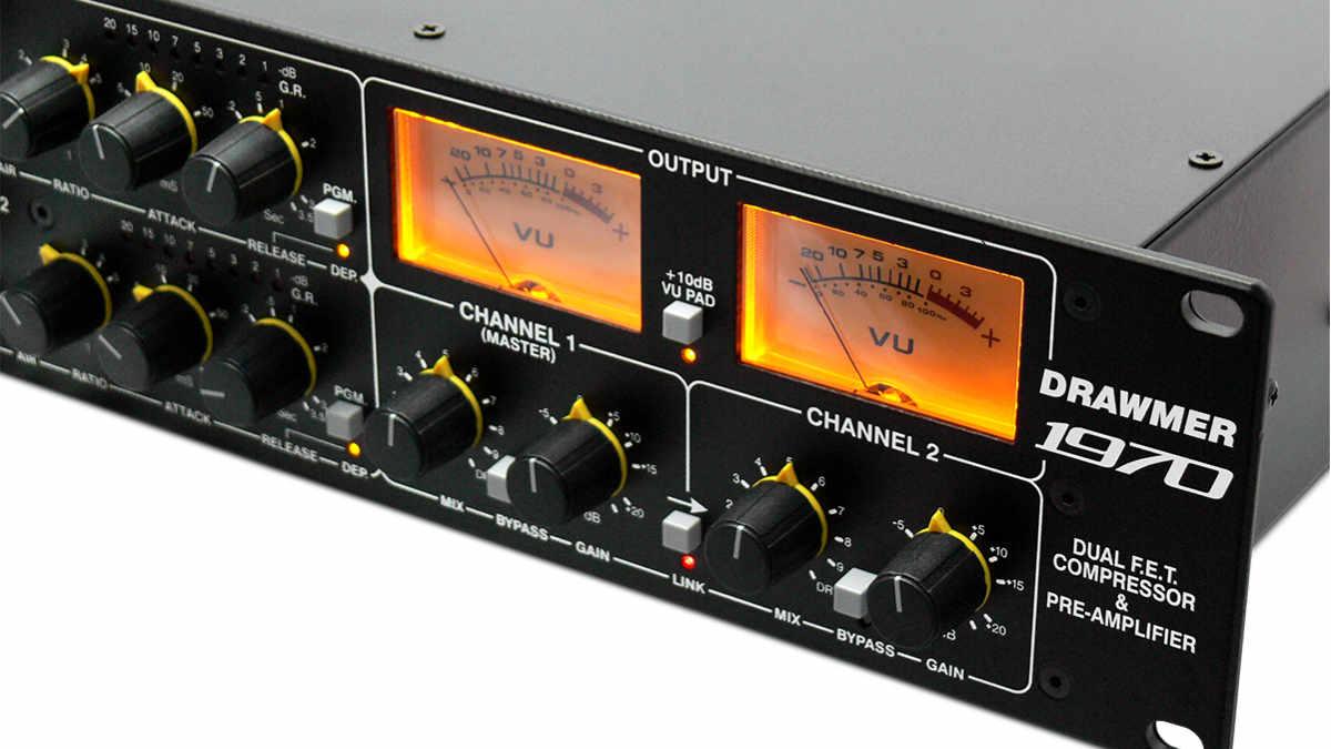 Drawmer stellt den 1970 FET-Kompressor / Mikrofonvorverstärker vor