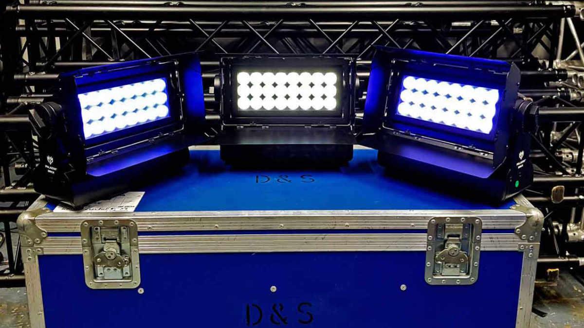 D. & S. Veranstaltungstechnik  setzt auf den ELATION Paladin Brick