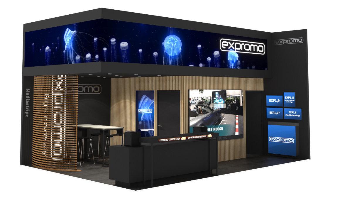 Expromo zeigt die Flip Chip Technologie auf der ISE