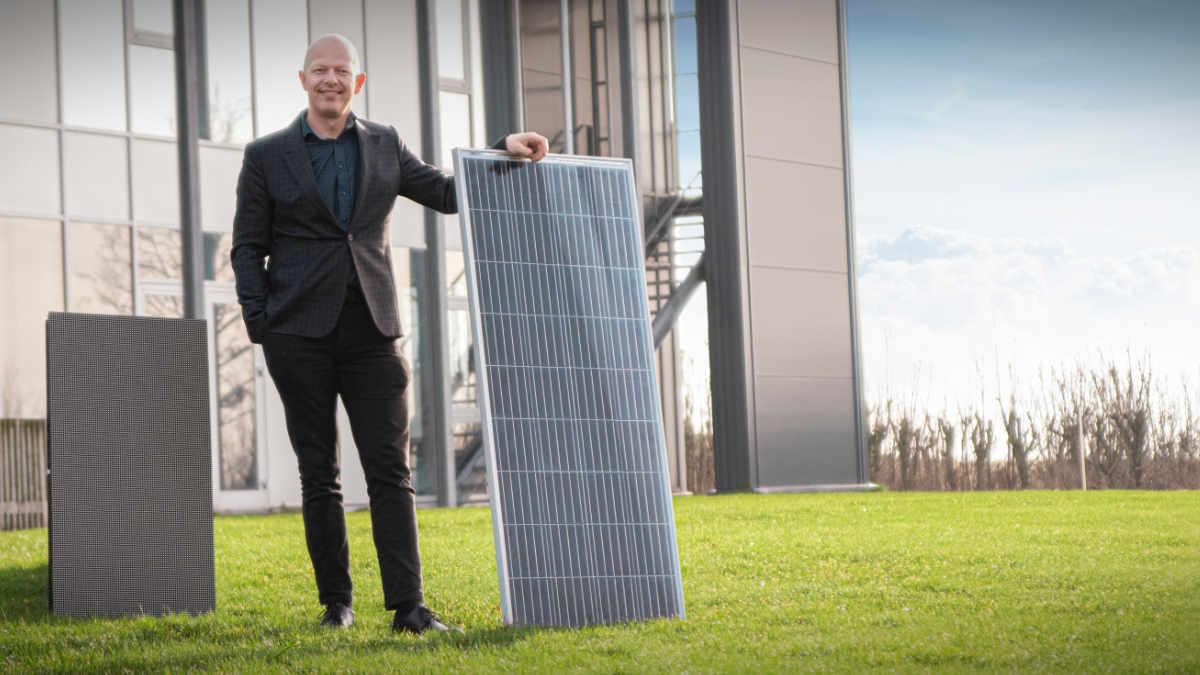 Expromo entwickelt Dänemarks erste solarbetriebene LED-Displays