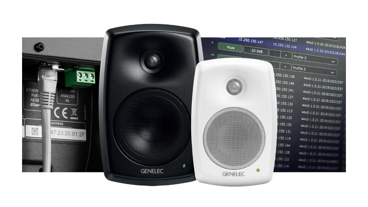 Genelec stellt die Smart IP-Lautsprecher 4420 und 4430 vor