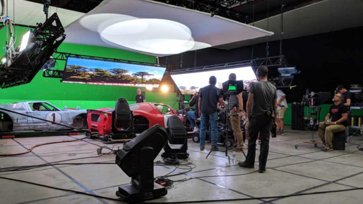 """High End Systems am Set von """"Le Mans 66 – Gegen jede Chance"""""""