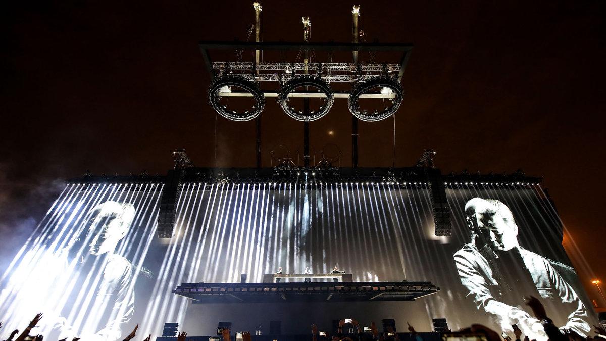 Kinesys lässt die Ringe der Swedish House Mafia schweben