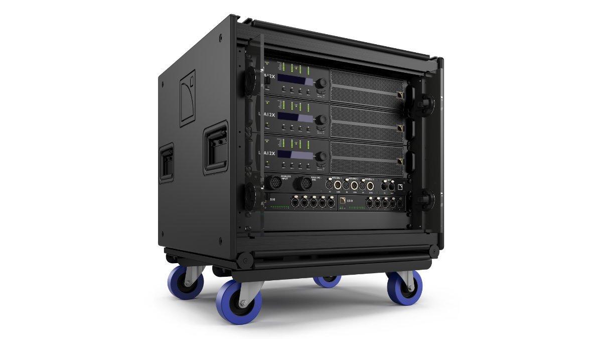 L-Acoustics präsentiert das LA-RAK II AVB