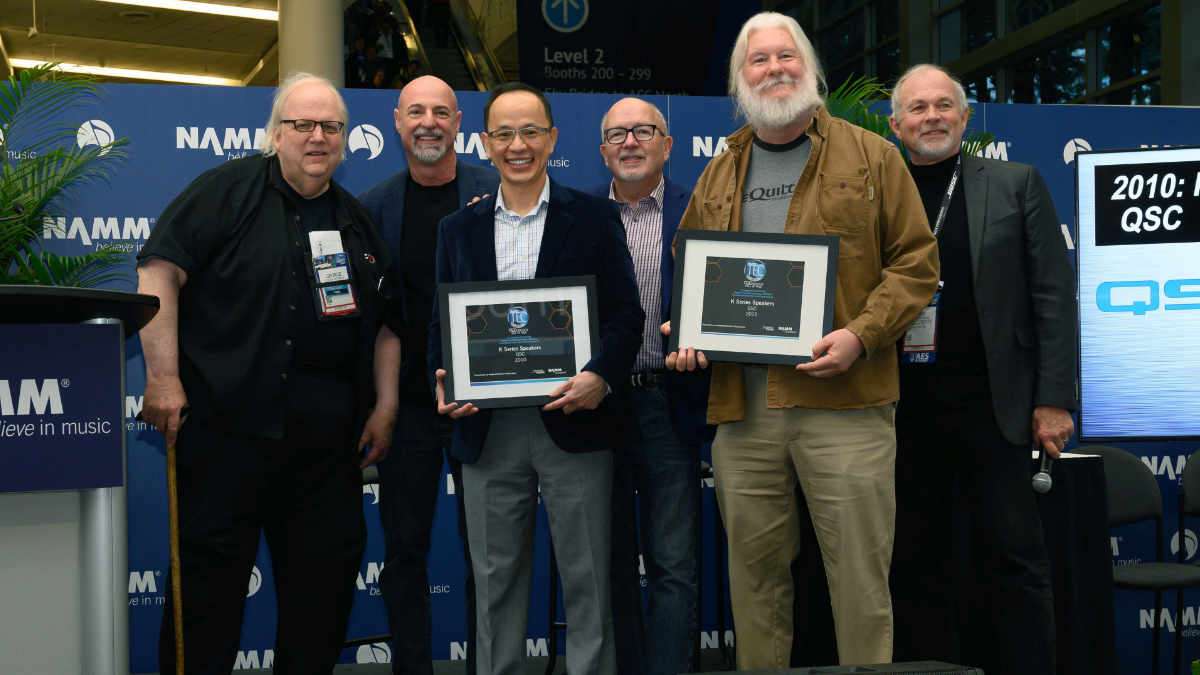 QSC K-Serie in TECnology Hall of Fame aufgenommen