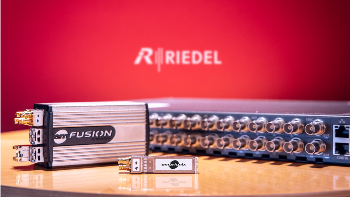 Riedel Communications übernimmt den kanadischen IP-Pionier Embrionix