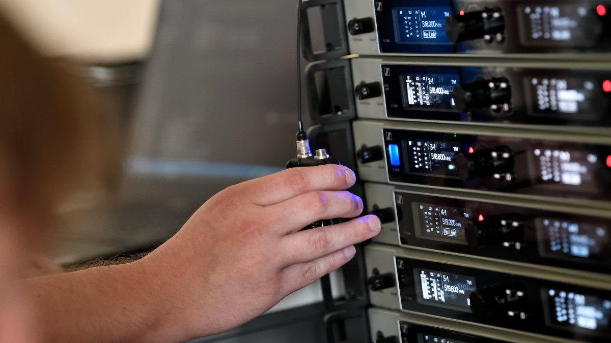 Sennheiser stellt den Link Density Mode für die drahtlose Mikrofonserie Digital 6000 vor