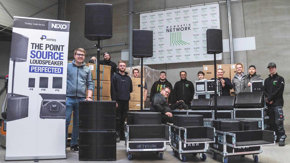 acoustic NETWORK investiert in die P+-Serie von NEXO