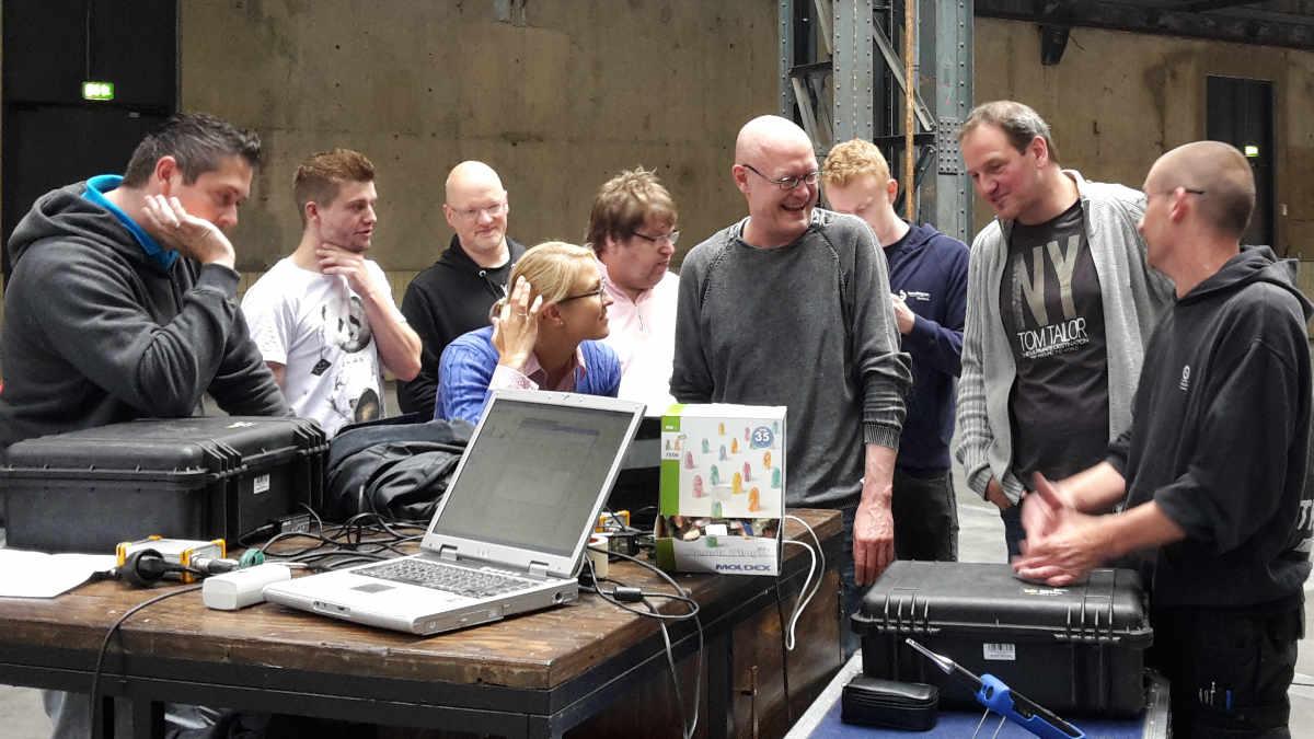 """Seminar """"Sachkunde Schallpegelmessung"""" mit Ederhof Audioproduction und der PM Group"""