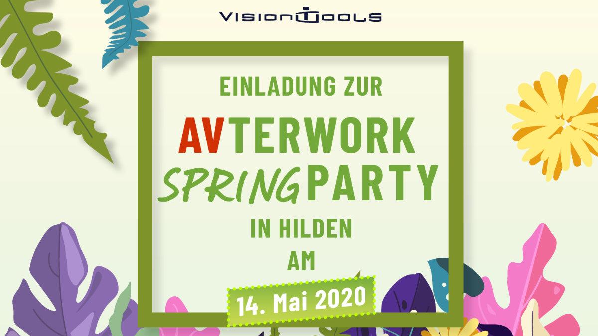 vision tools lädt zur AVterwork Springparty