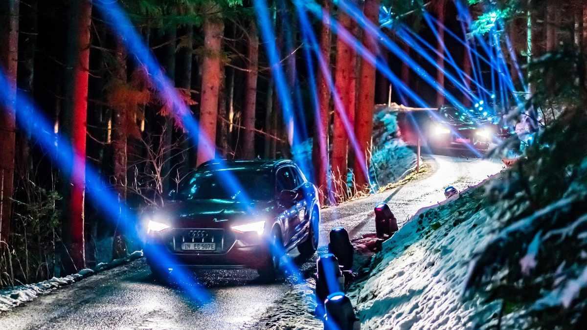 Chris Moylan setzt auf Proteus Hybrid bei Audis e-tron Experience