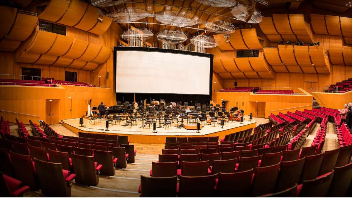 dBTechnologies in der Philharmonie im Gasteig