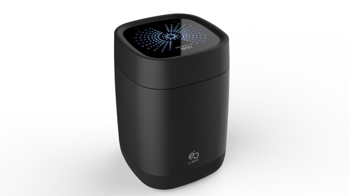 Das Micker Pro UVS-01 sterilisiert Mikrofone mit UV-Strahlung
