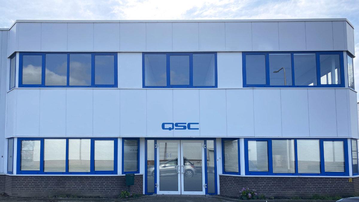 QSC eröffnet ein neues Büro in den Niederlanden