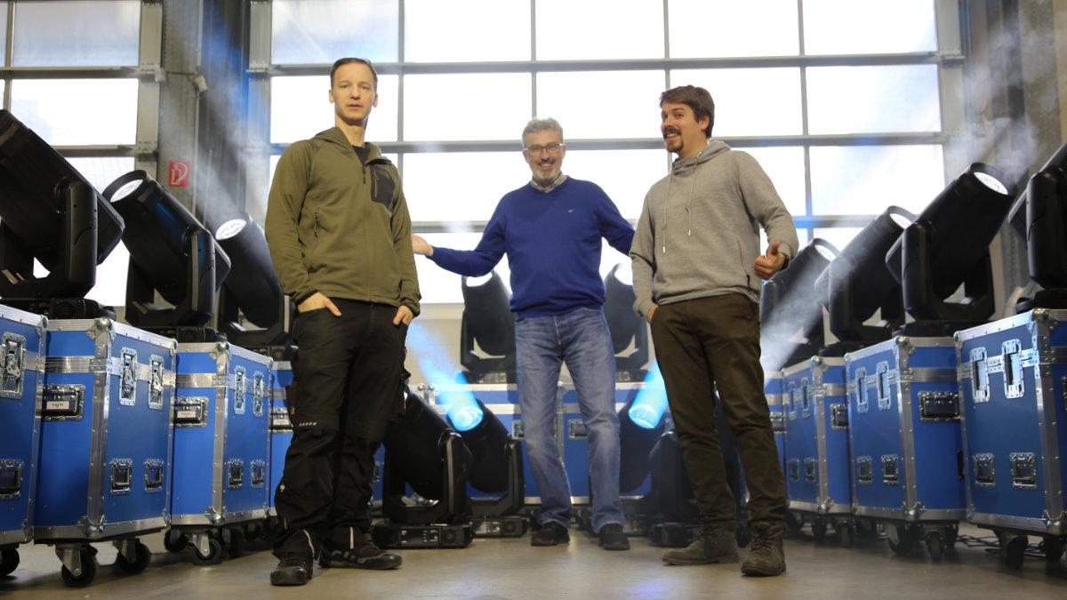 SSM Veranstaltungstechnik investiert in den ROBE ESPRITE