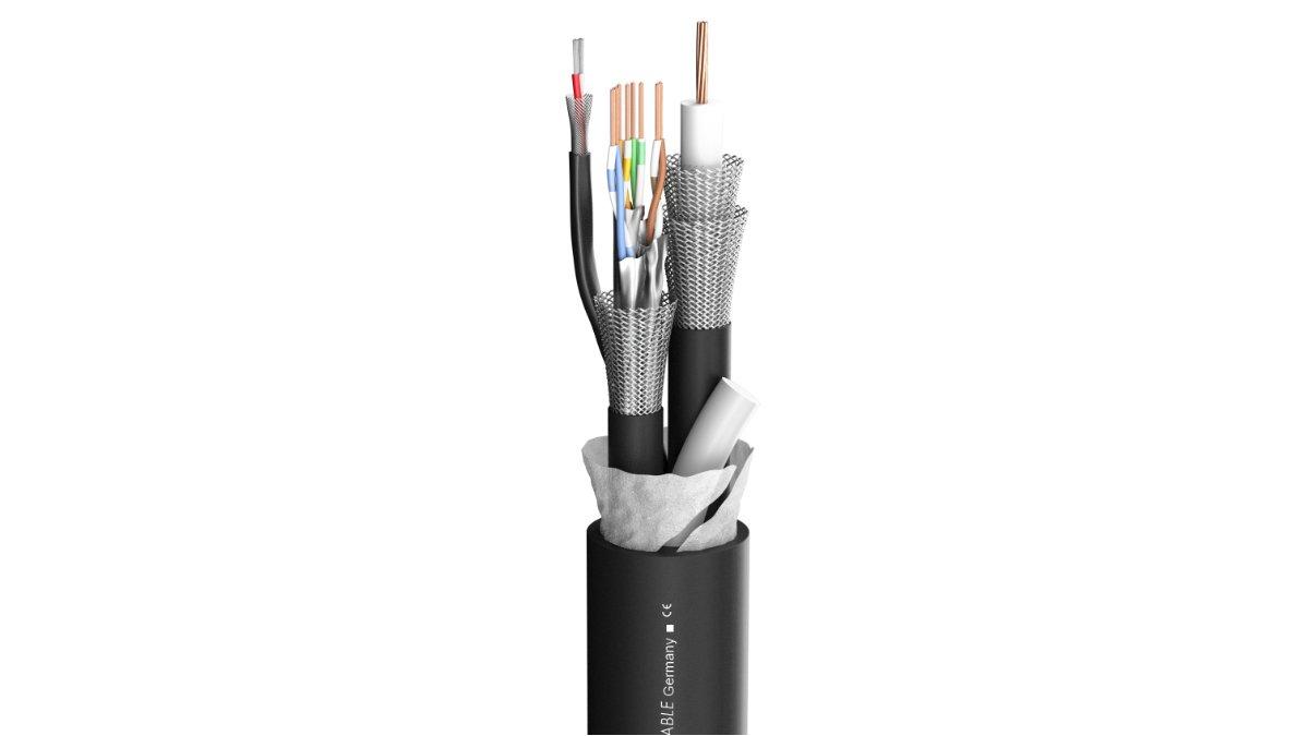 Sommer cable präsentiert das Hybridkabel TRANSIT MC 1101 UHD-SDI