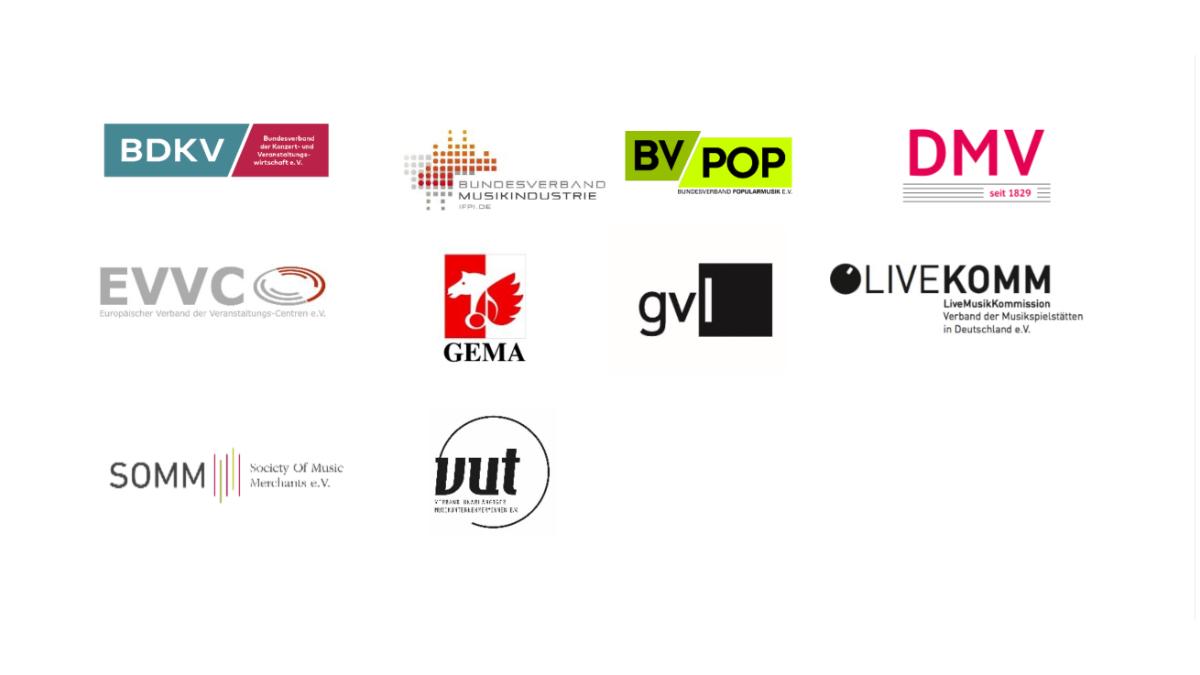 Die Musikwirtschaftsverbände fordern 582 Millionen Euro