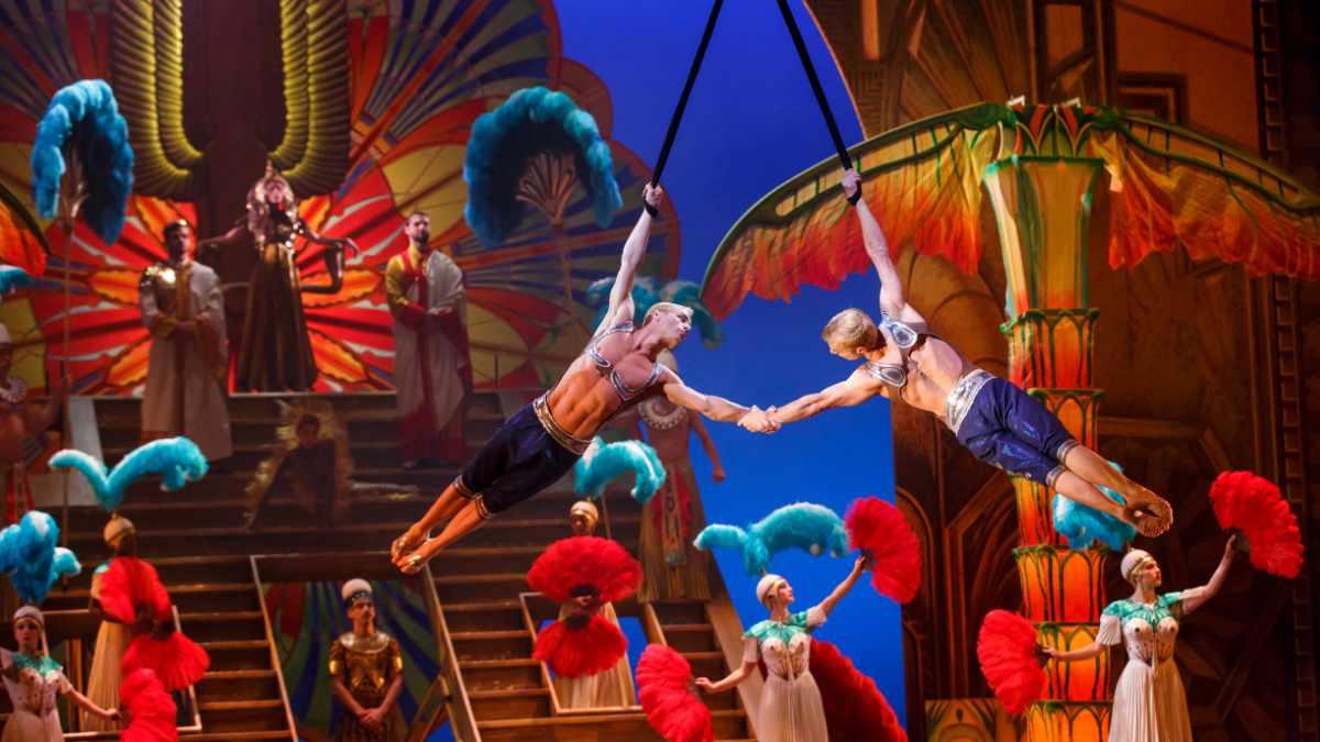 Das Musical Cirque Du Soleil Paramour setzt auf ein Intercom-System von Clear-Com
