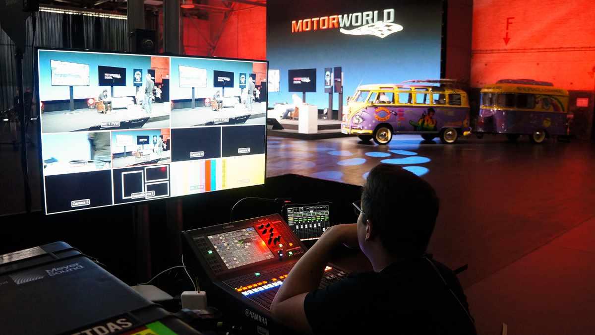 Kuchem Konferenz Technik eröffnet ein TV-Studio für virtuelle Veranstaltungen