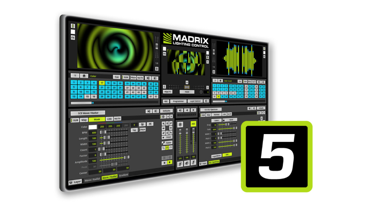 MADRIX 5 professional ist als kostenlose Testversion erhältlich