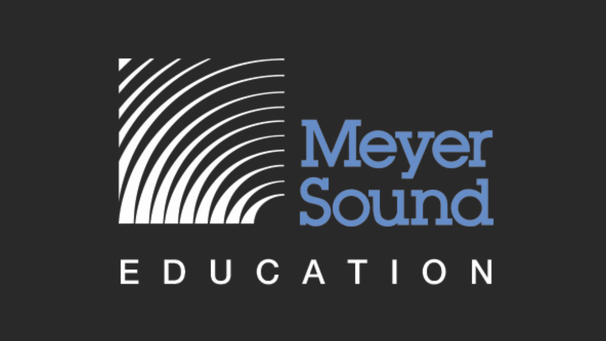 Meyer Sound erweitert sein Education Programm