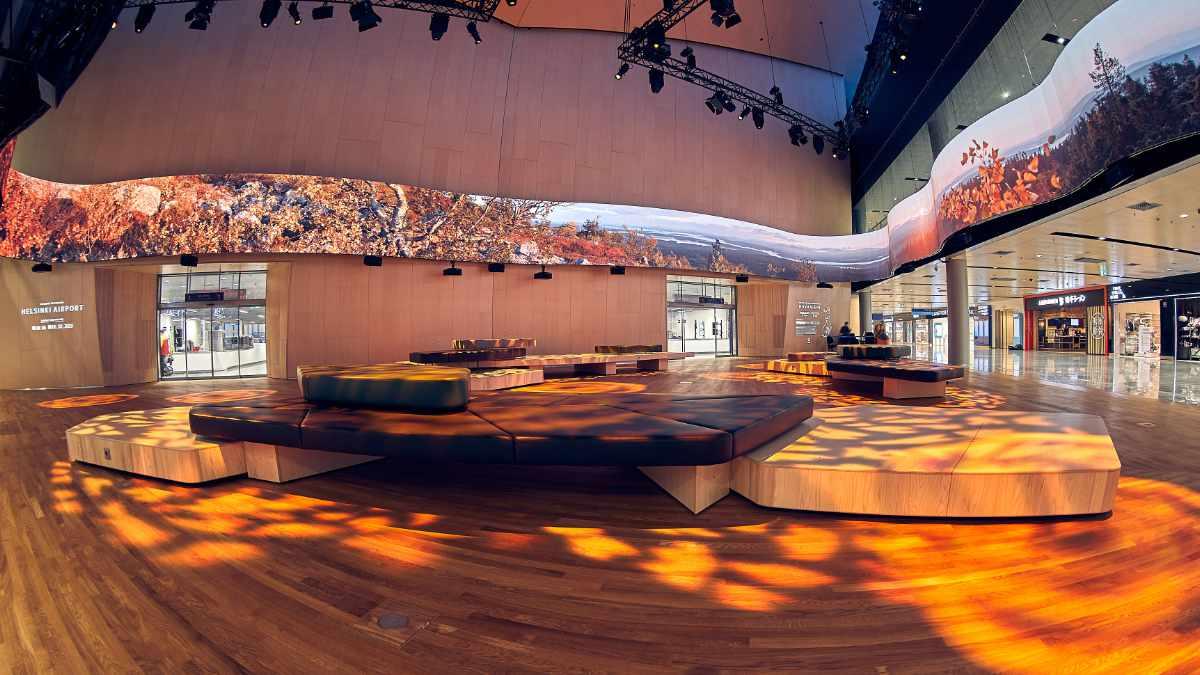 Meyer Sound untermalt das visuelles Panorama des Helsinki Airports akustisch