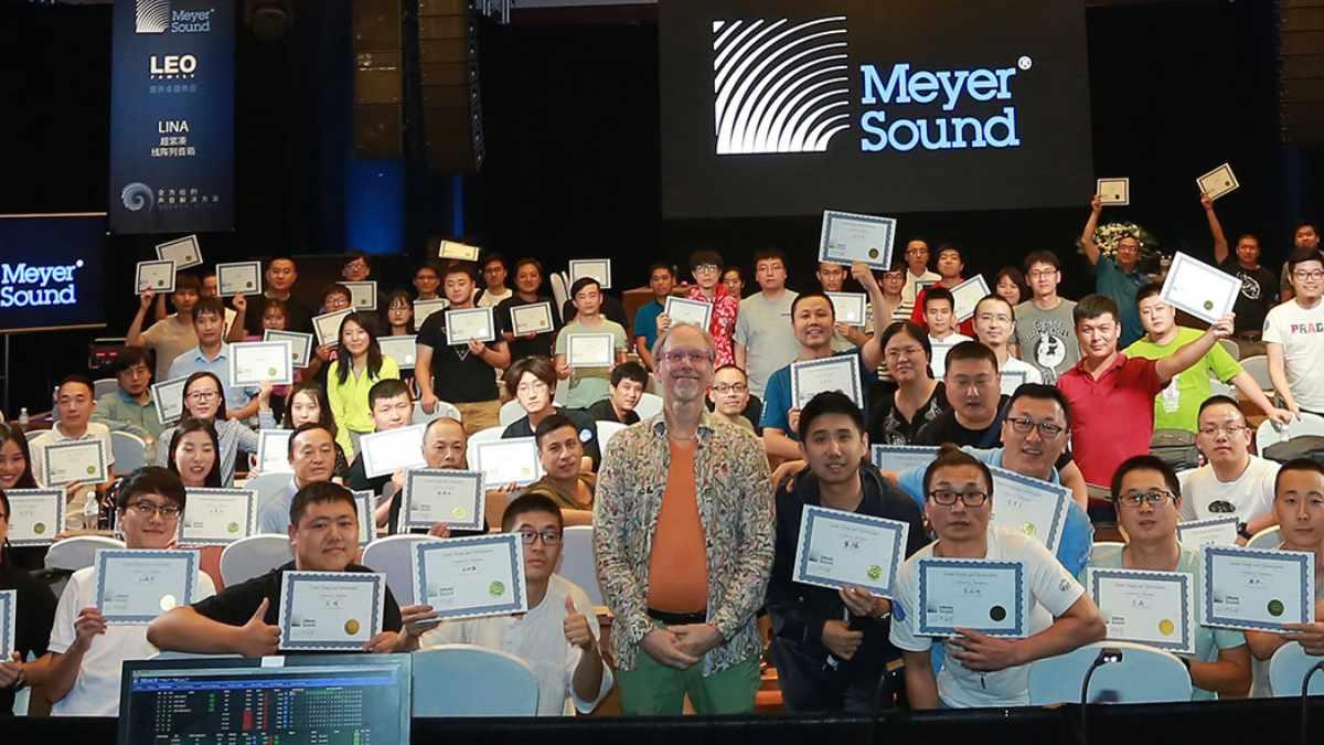 Meyer Sound setzt seine Webinare fort