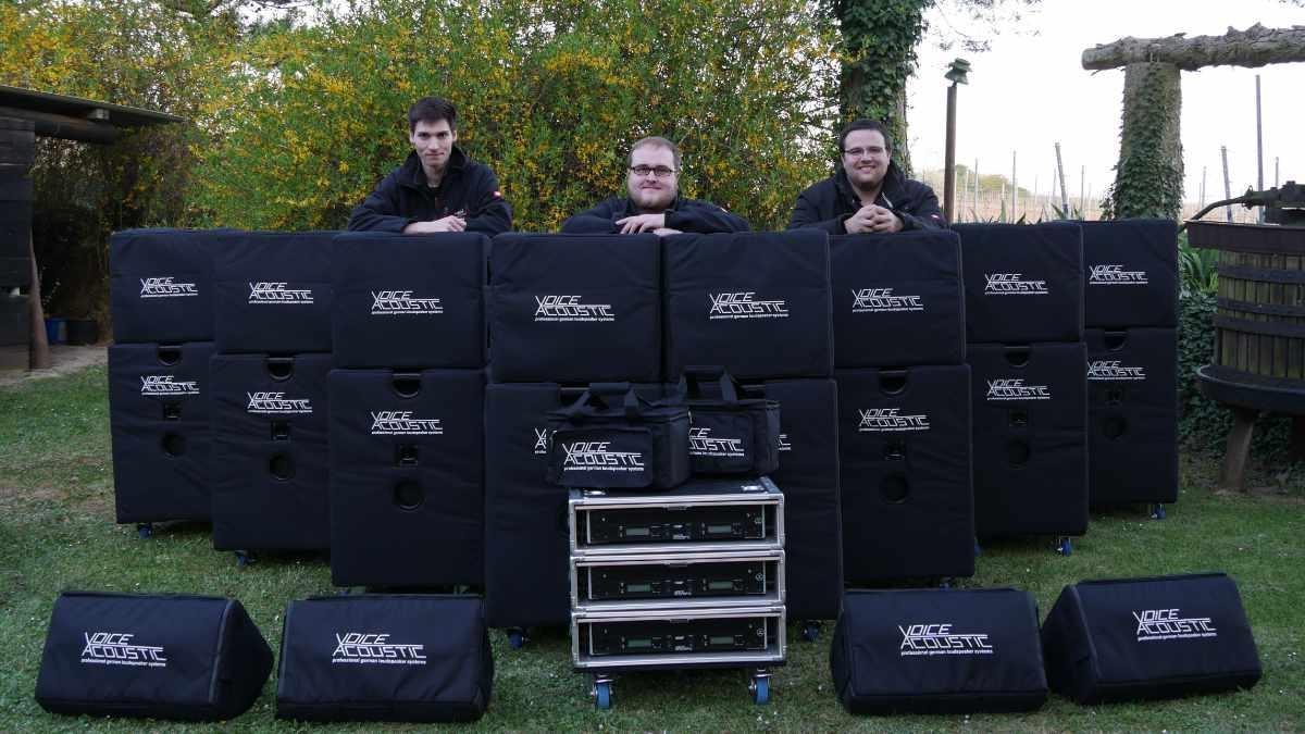 MSM Veranstaltungstechnik investiert in Beschallungssysteme von Voice-Acoustic