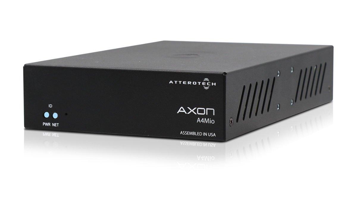 QSC stellt neue Axon Audio-Netzwerk I/O Endpunkte vor