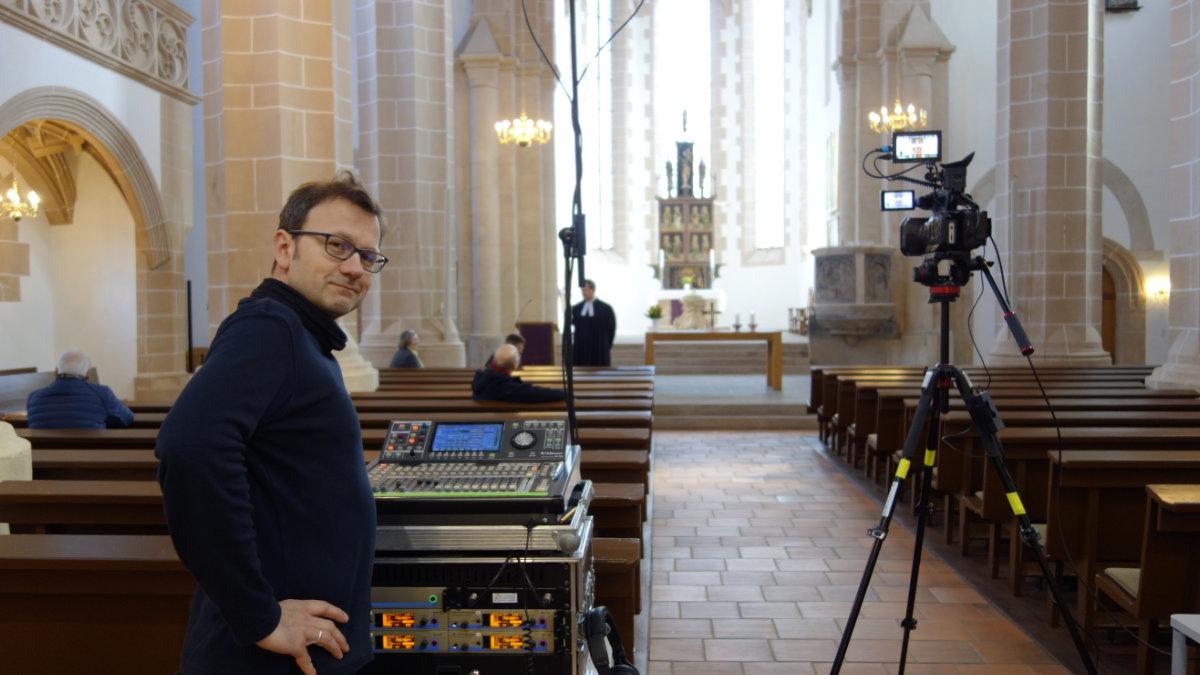 Sennheiser erleichtert das Livestreaming aus Glaubenshäusern