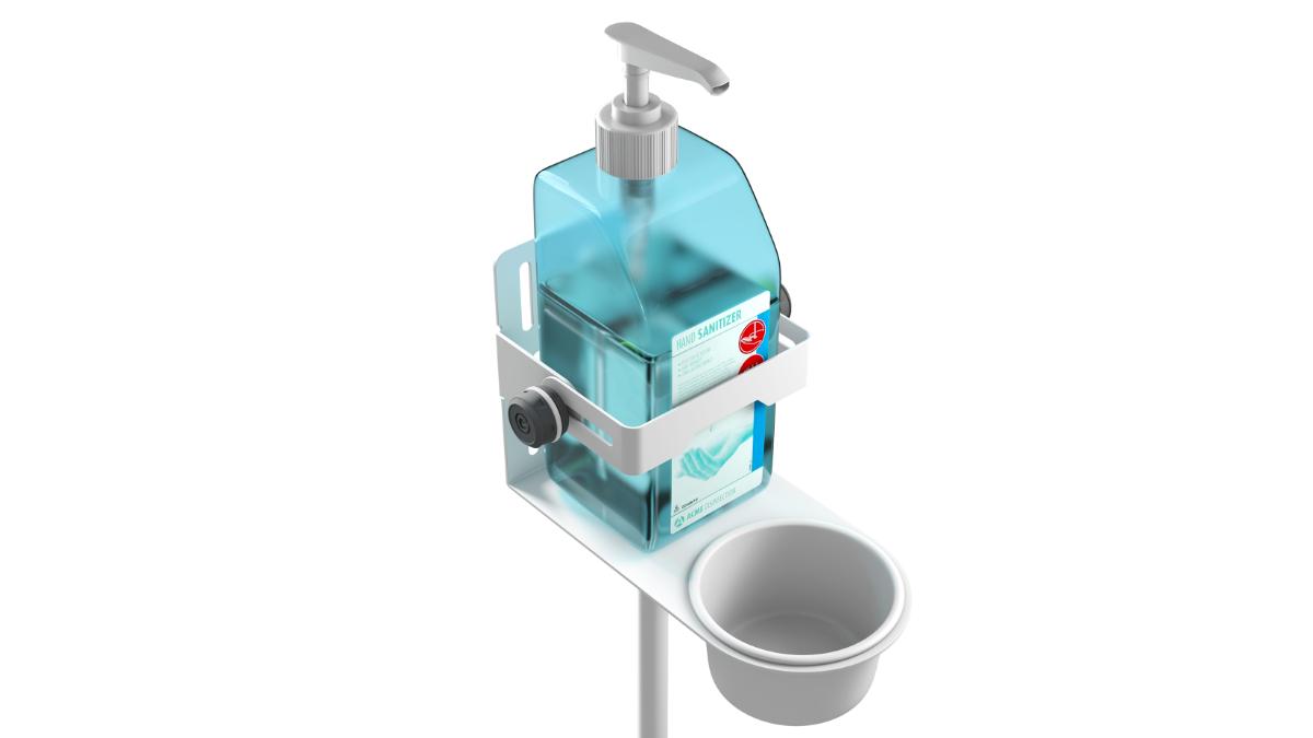 Die Adam Hall Group stellt kleine Helfer für Hygienemaßnahmen vor