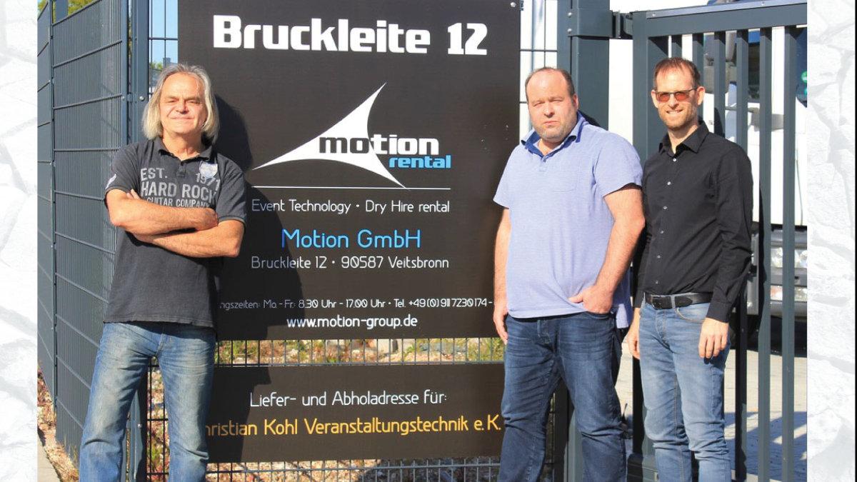 Motion Group und HELi Showequipment fusionieren