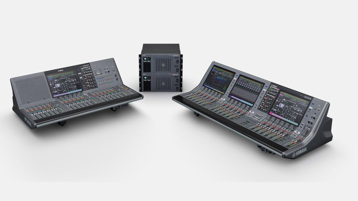 Yamaha präsentiert RIVAGE PM5 und RIVAGE PM3