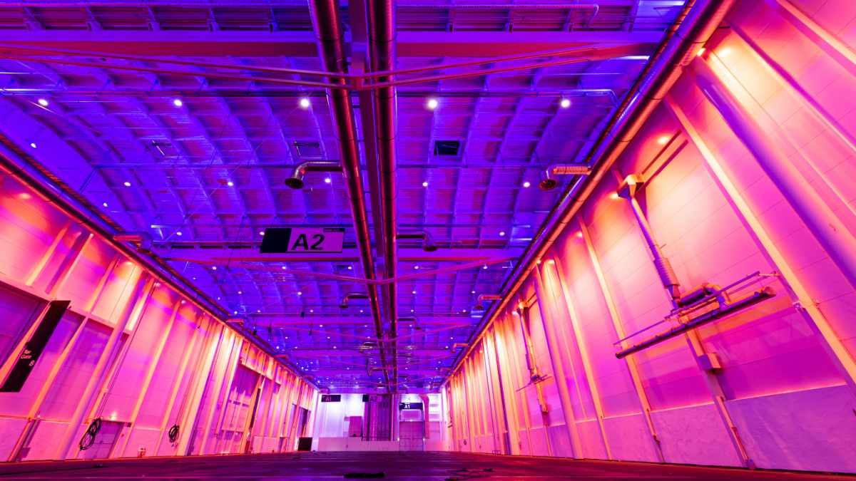 ASC stattet Messehalle in Hamburg mit moderner Beleuchtung aus