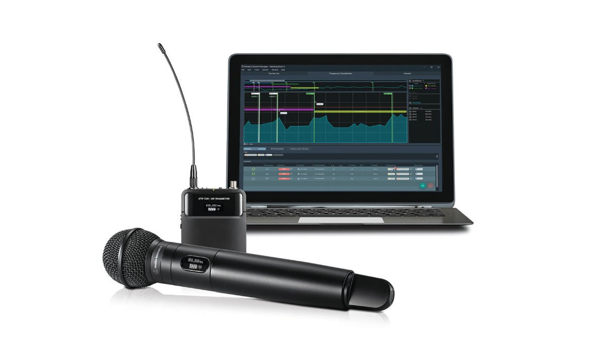 Audio-Technica aktualisiert seine Wireless Manager Software