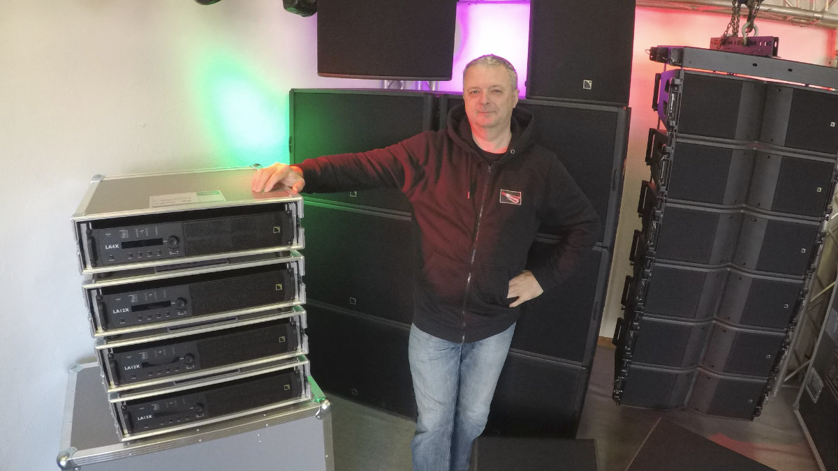 Stagelight Showservice vertraut auf L-Acoustics