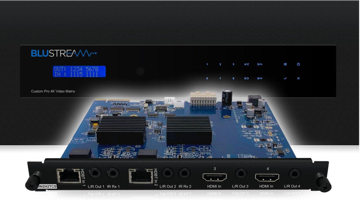 Blustream stellt neue Komponente für Videomatrix
