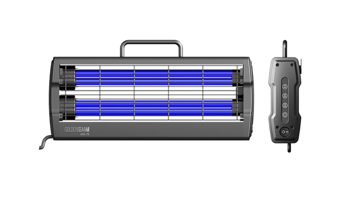 GOLDENSEA UV präsentiert UVC-Desinfektionslampen