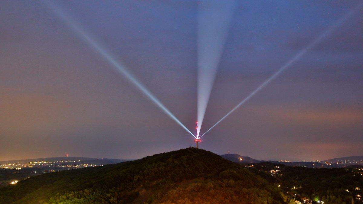 Lichtkunstinstallation LEUCHTSIGNAL will ein Zeichen setzen