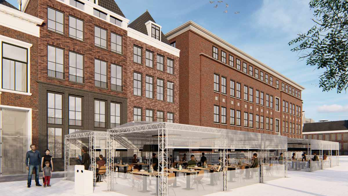 AED group stellt NEXT Truss Terrassenüberdachungen vor