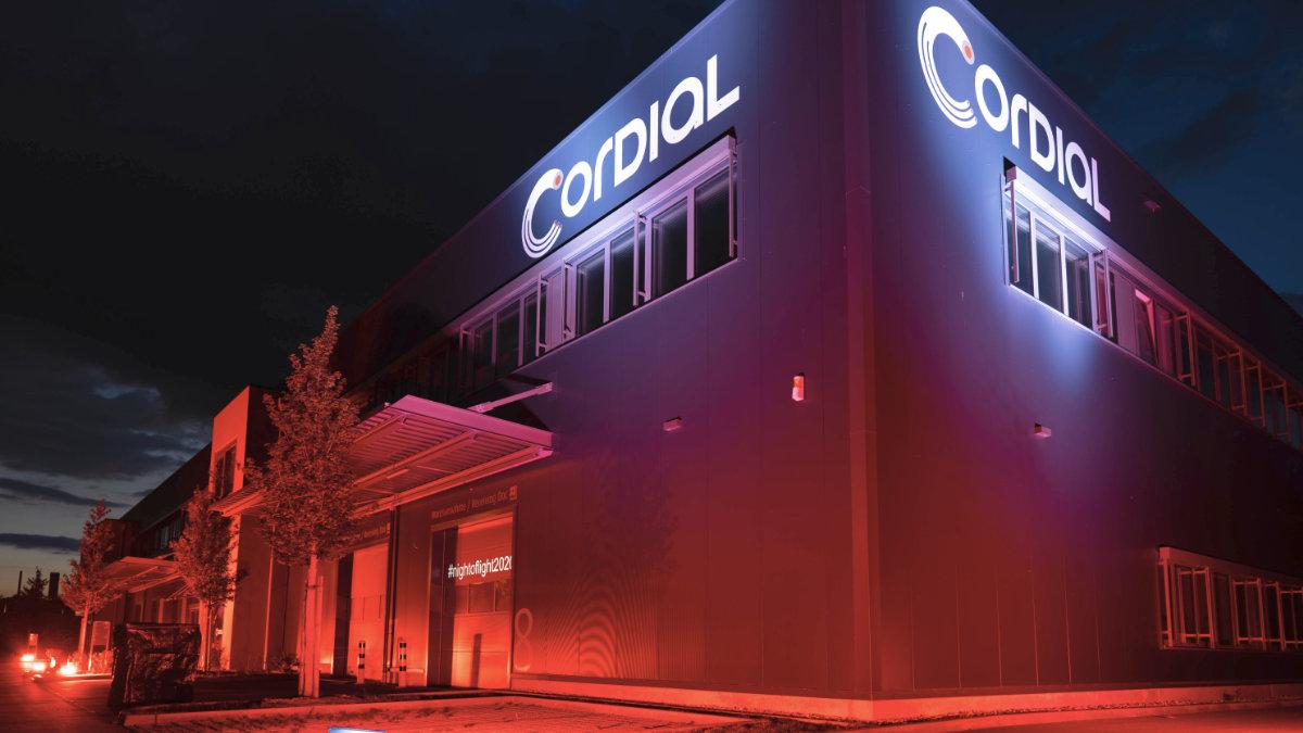 Cordial unterstützt die Night of Light