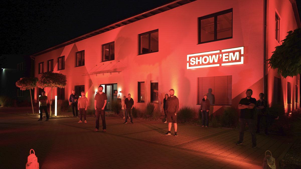 SHOWEM Veranstaltungstechnik unterstützt die Night of Light