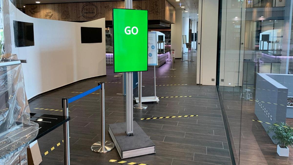 satis&fy regelt Personenfluss im Restaurant der Deutsche Börse