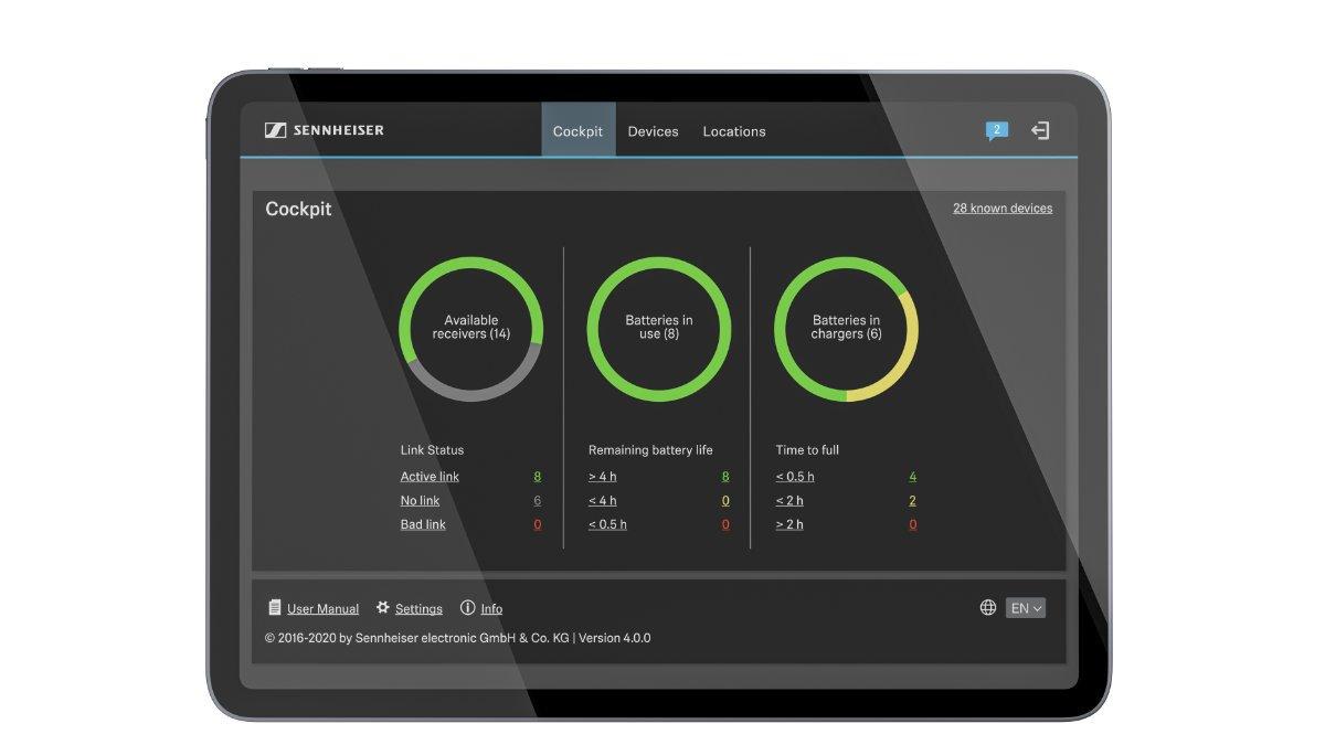 Sennheiser stellt das Control Cockpit 4.0.0 Release vor