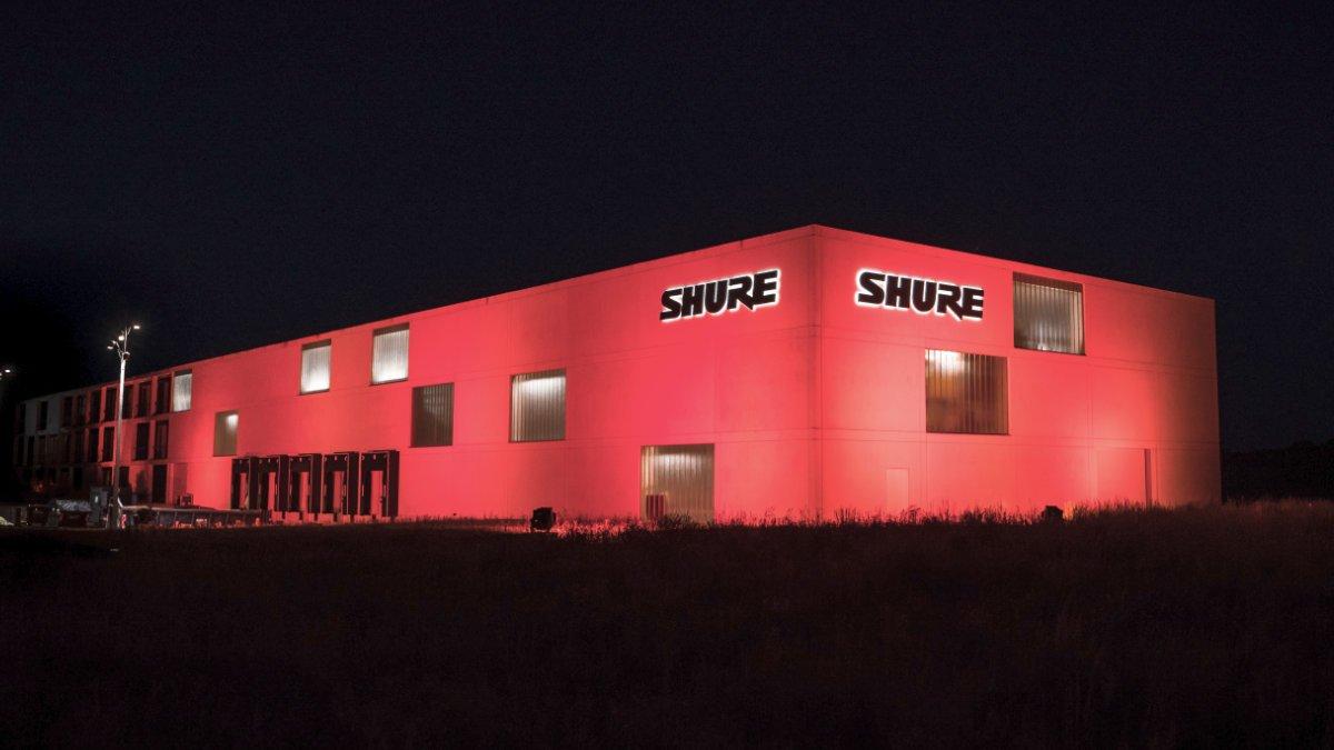 Shure unterstützt die Night of Light