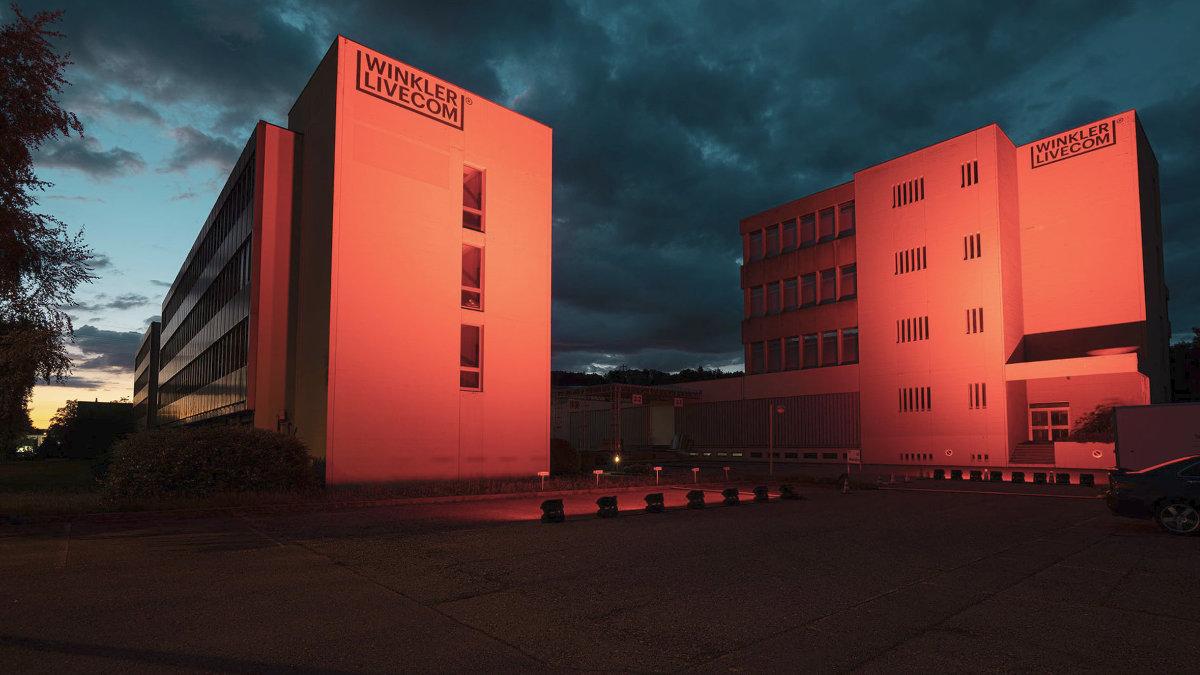 Winkler Livecom unterstützt die Night of Light