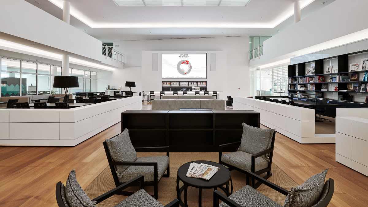 Amptown System Company installiert Konferenzsysteme im Engel & Völkers HQ
