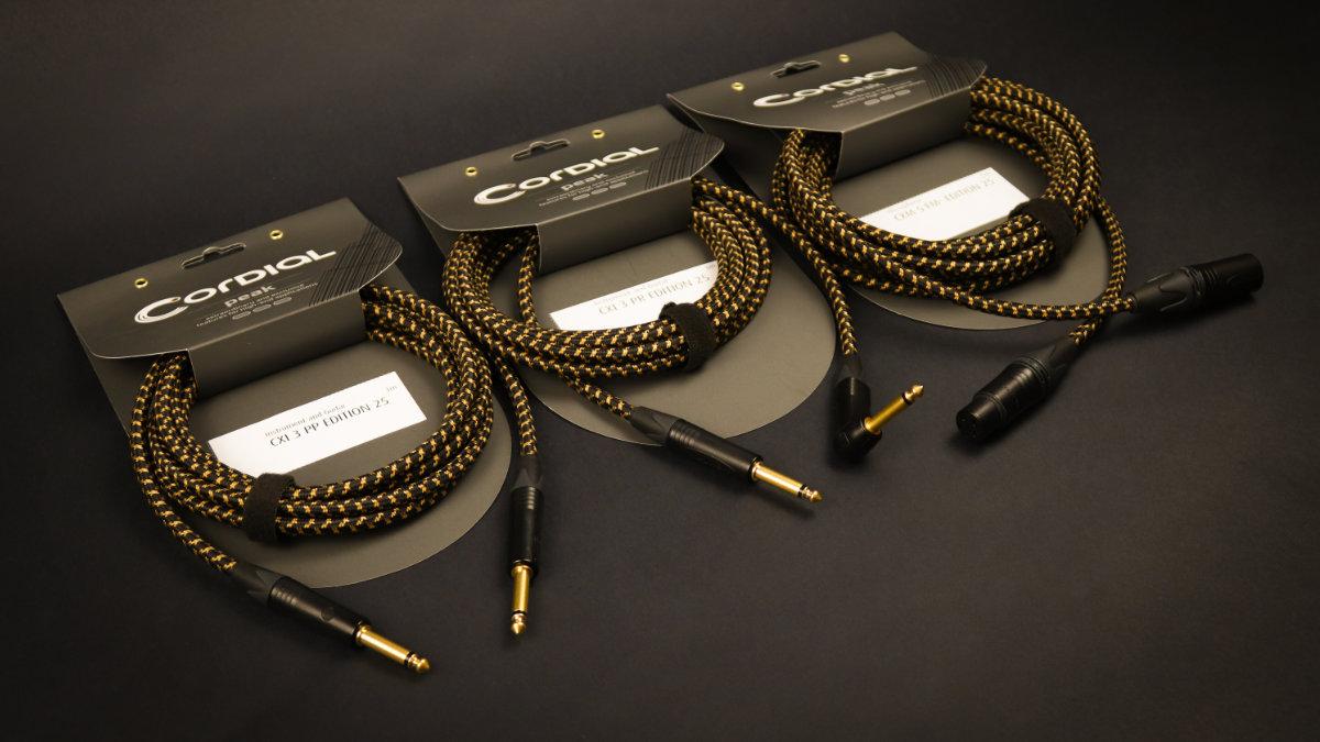 Cordial präsentiert die Edition 25 Kabel zum Firmenjubiläum