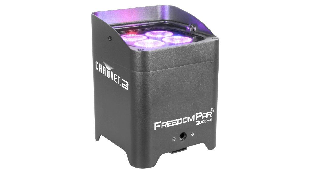 Feiner Lichttechnik ersetzt die SmartBat RGBW mit den Freedom Par Quad-4