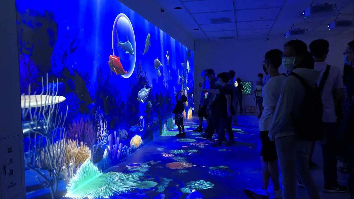 Christie Laserprojektoren im Xpark Aquarium Taipeh